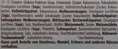 Dickmann's Schoko Strolche - Ingredients
