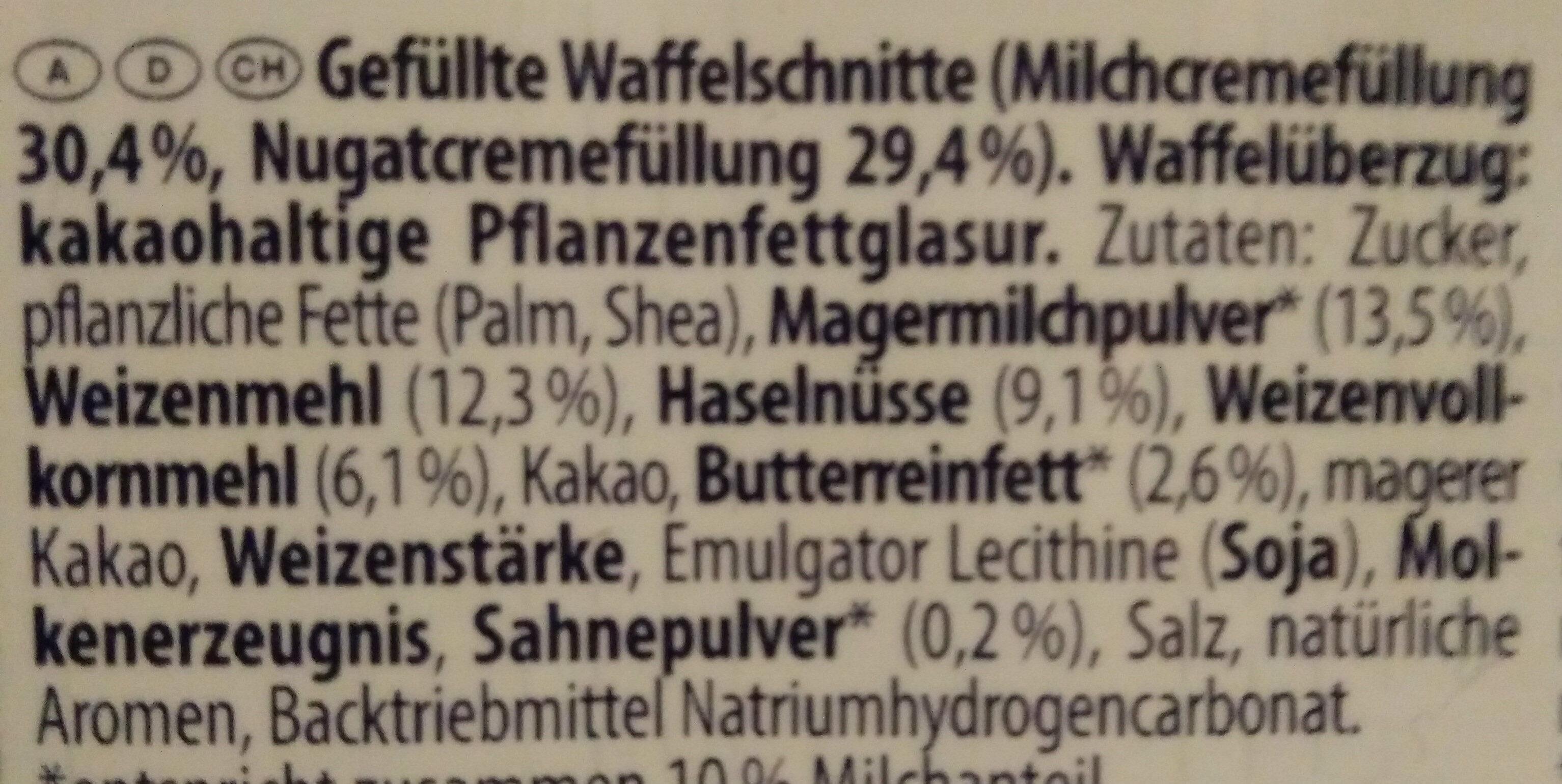 Knoppers - Ingredienti - de
