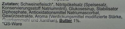 Butterschinken Ofengebacken - Zutaten - de