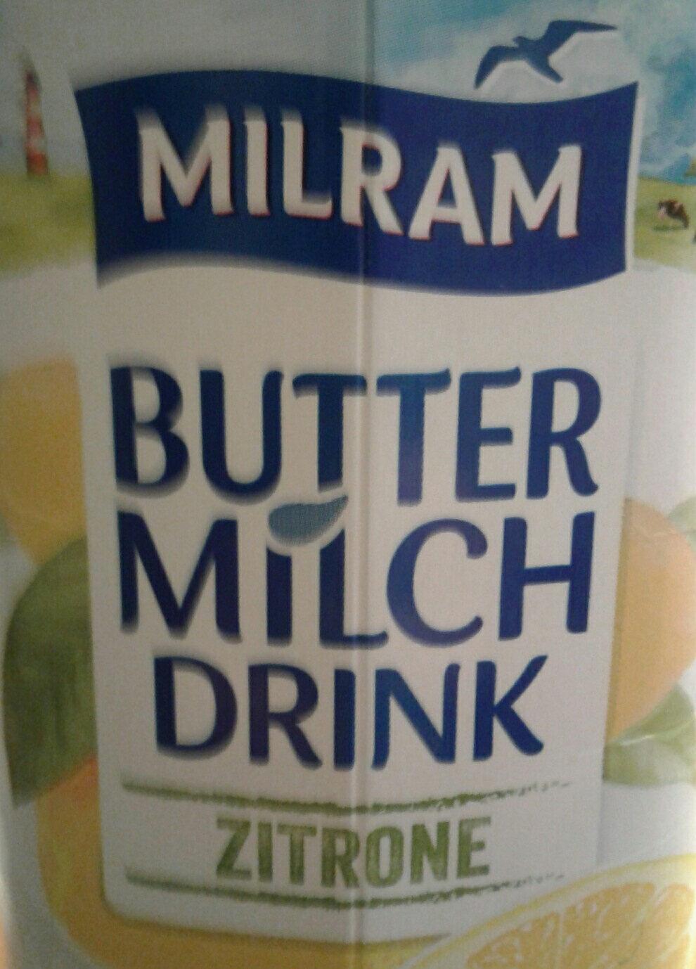 Buttermilch Zitrone - Produit - de