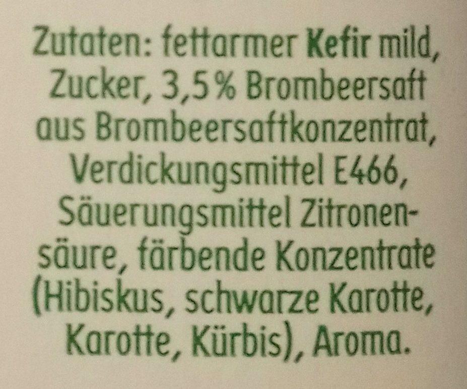Kefir aromatisé - Ingredients - de