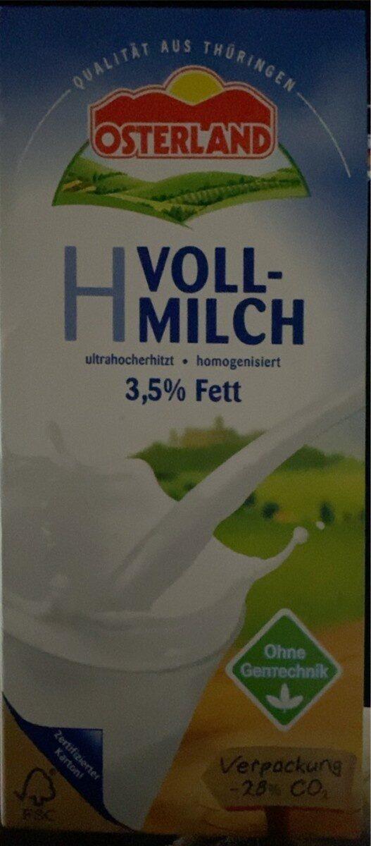 H Vollmilch 3,5 - Produkt - de