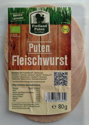 Puten-Fleischwurst - Product