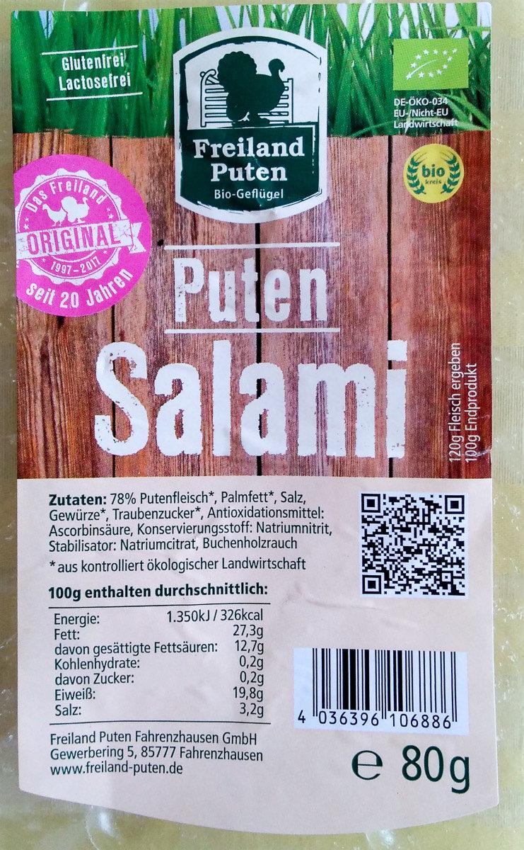 Puten Salami - Product