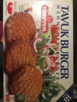 Burgers de poulet - Product