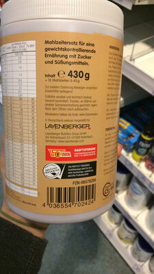 Fit and Feelgood Schlankdiät (inkl. 1,5% Milch), S... - 2