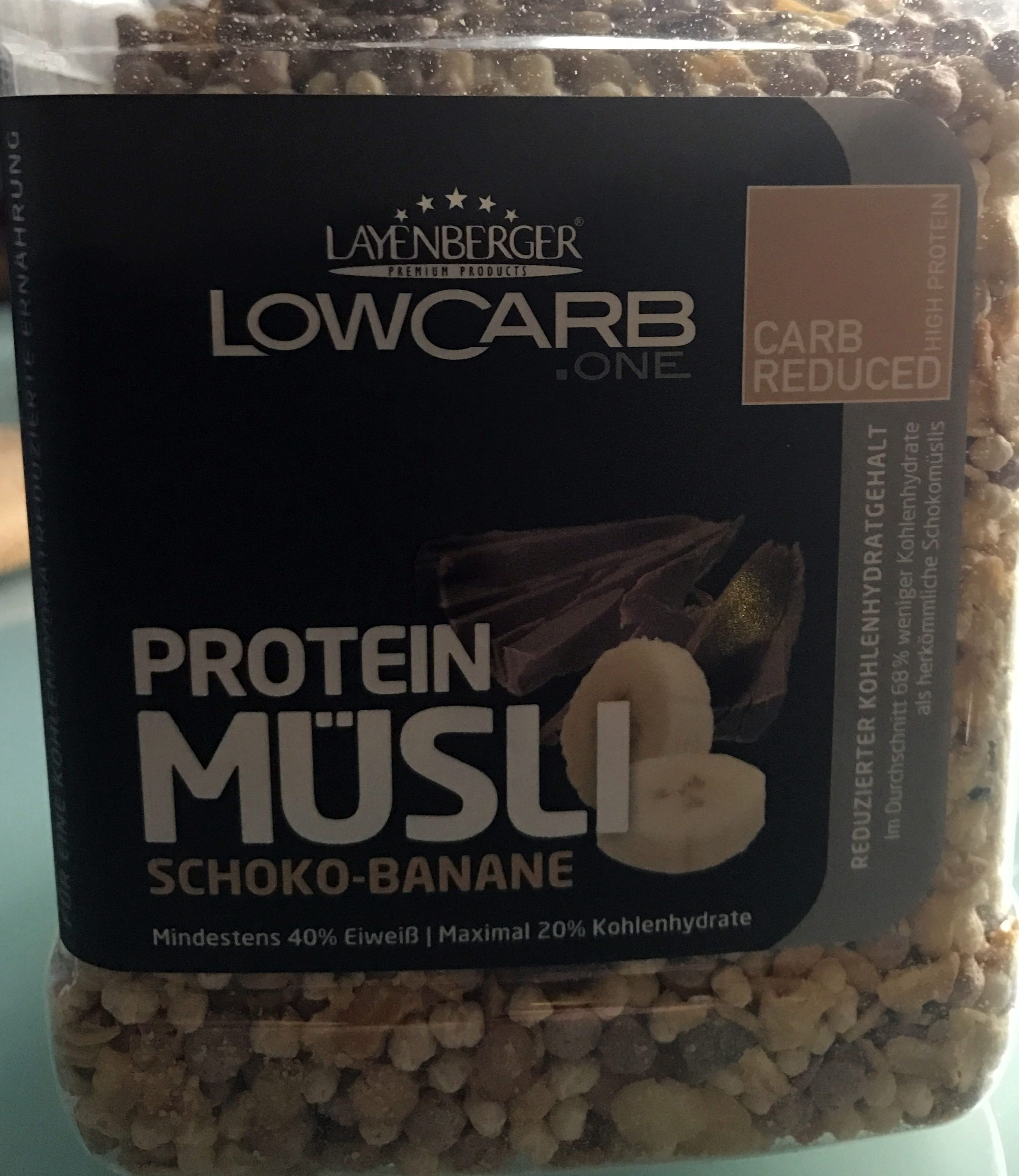 Protein müsli [choco-banane] - Product - fr