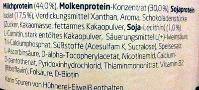 3K Protein Shake Stracciatella - Ingredienti - de