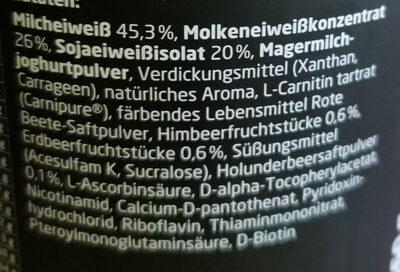 3K Protein Shake - Ingredienti - de