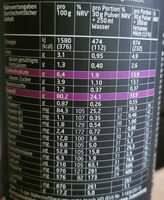 3K Protein Shake - Informazioni nutrizionali - de