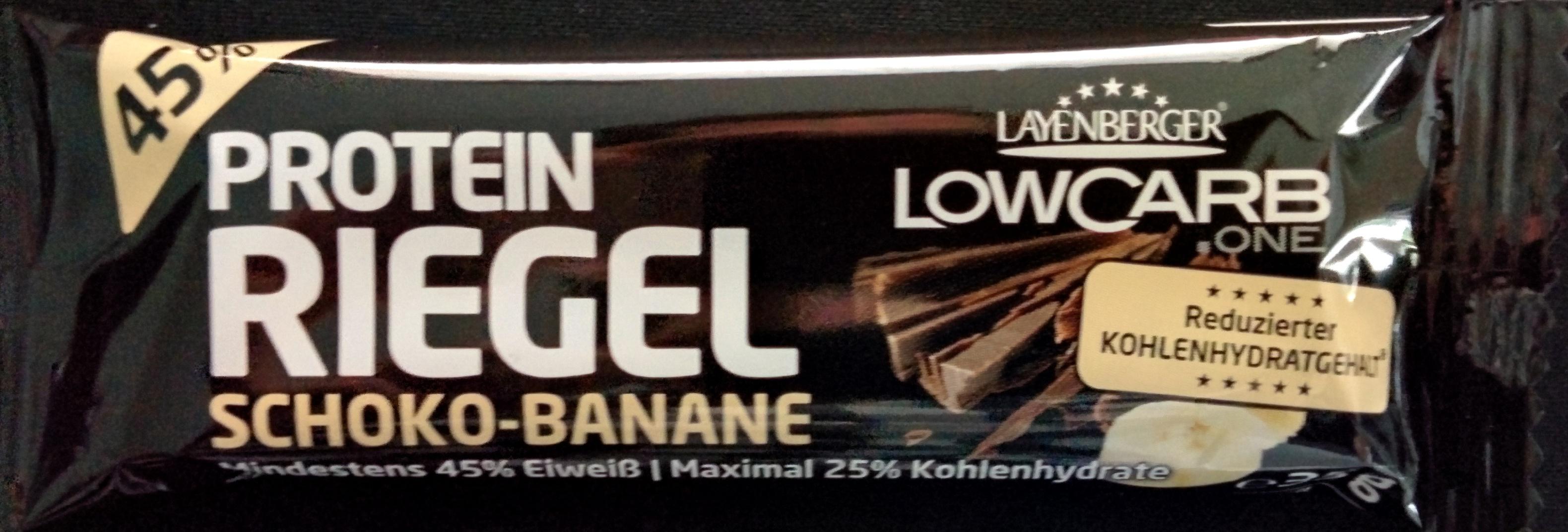 Protein Riegel Schoko-Banane - Produit