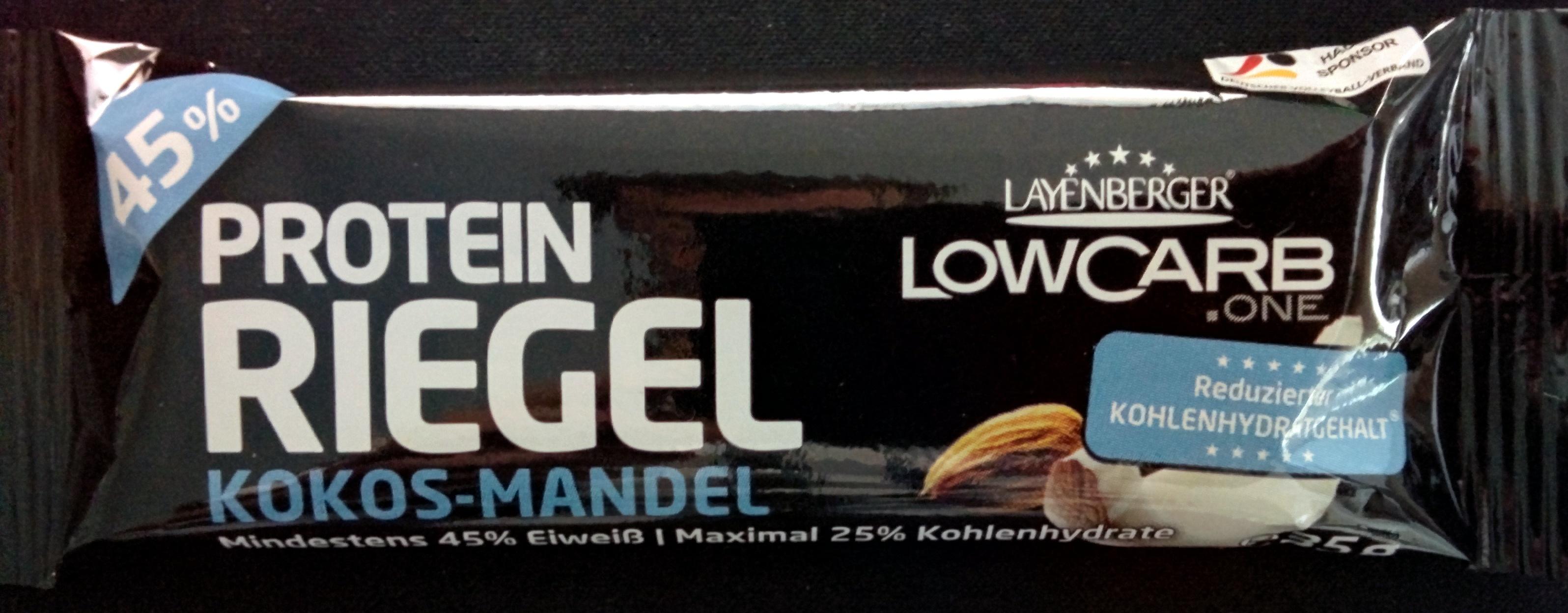 Protein Riegel Kokos-Mandel - Product - de