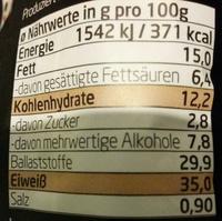 Protein Cookix Kakao-Nuss - Nutrition facts - de