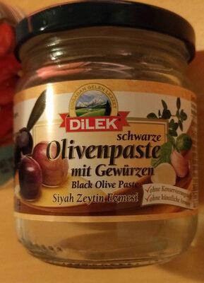 Schwarze Olivenpaste mit Gewürzen - Prodotto - de