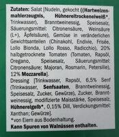 Thurländer Tomate-Mozzarella Salat - Ingrédients - de