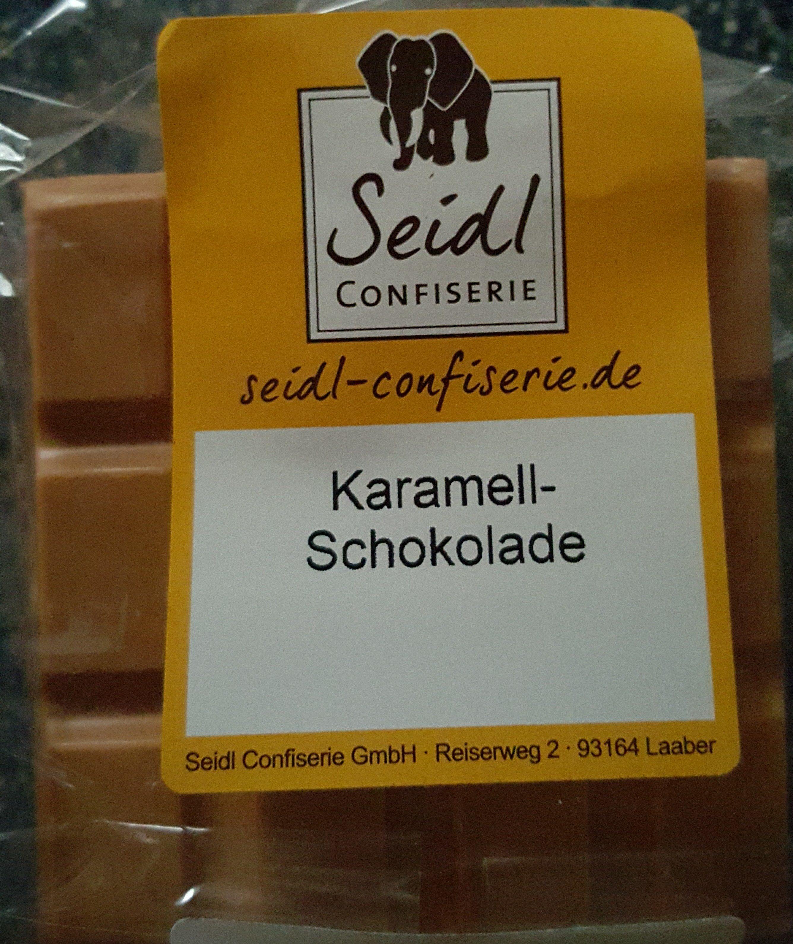 Karamell-Schokolade - Product - de