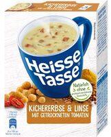 Heisse Tasse Kichererbse & Linse mit getrockneten Tomaten - Produkt - de