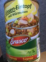 Linsen- Eintopf mit Würstchen - Produkt