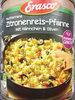 mediterrane Zitronenreis-Pfanne mit Hähnchen & Oliven - Produkt
