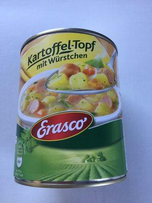 Erasco Kartoffeltopf mit Würstchen - Produkt