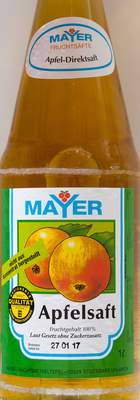 Apfelsaft - Product