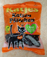 Katjes | Katzen Pfotchen Liquorice (katjes) - Produit