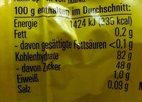 Katjes Tappsy 200G - Nutrition facts - en