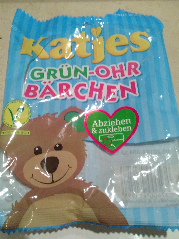 Katjes Grün-ohr Bärchen - Product