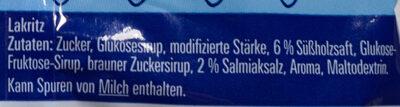 Salzige Heringe - Ingredients