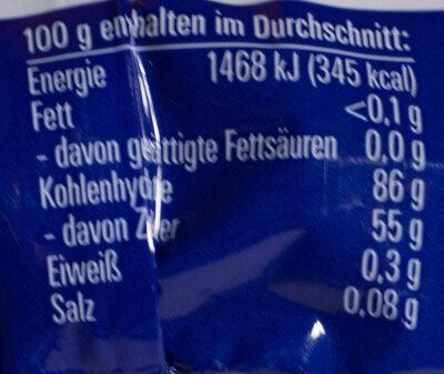 Salzige Heringe - Nutrition facts