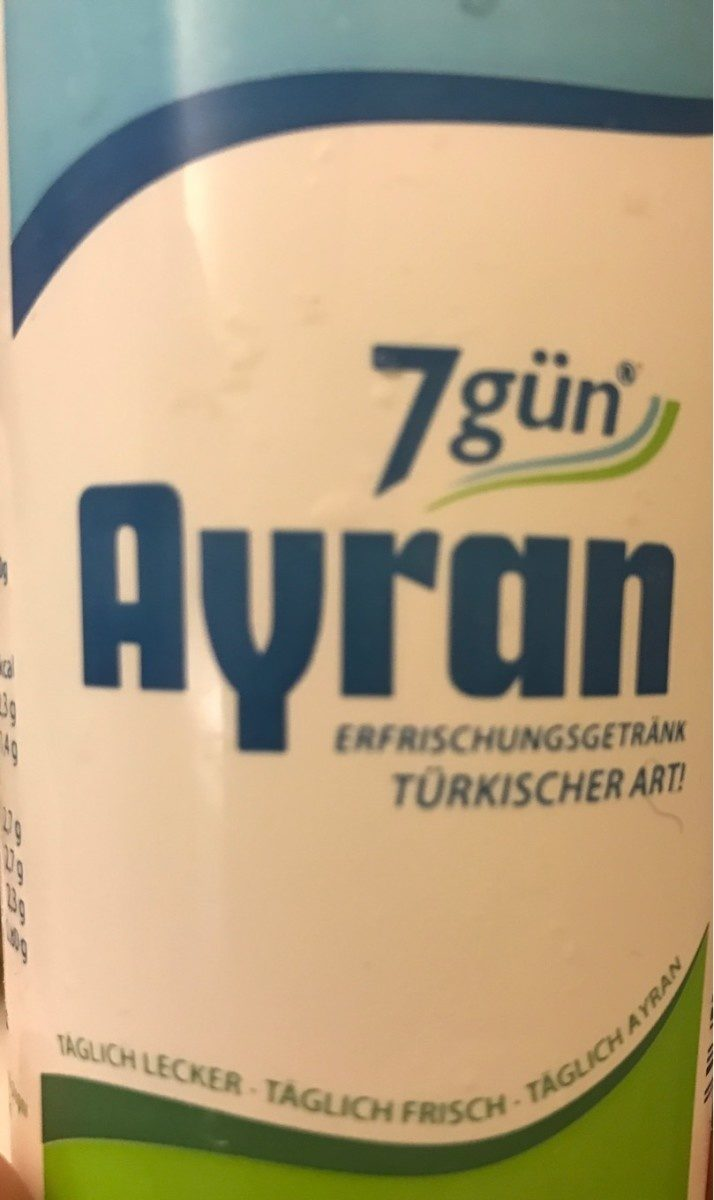 Ayran - Produit - fr