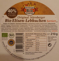 Bio Elisen-Lebkuchen Sortiert - Product