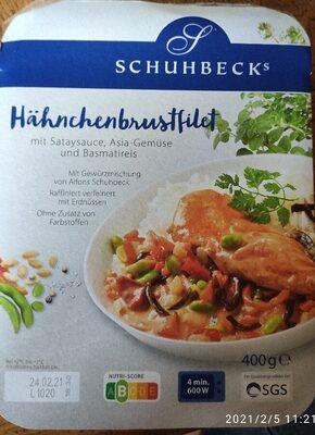 Hähnchenbrustfilet mit Basmatireis - Produit - de