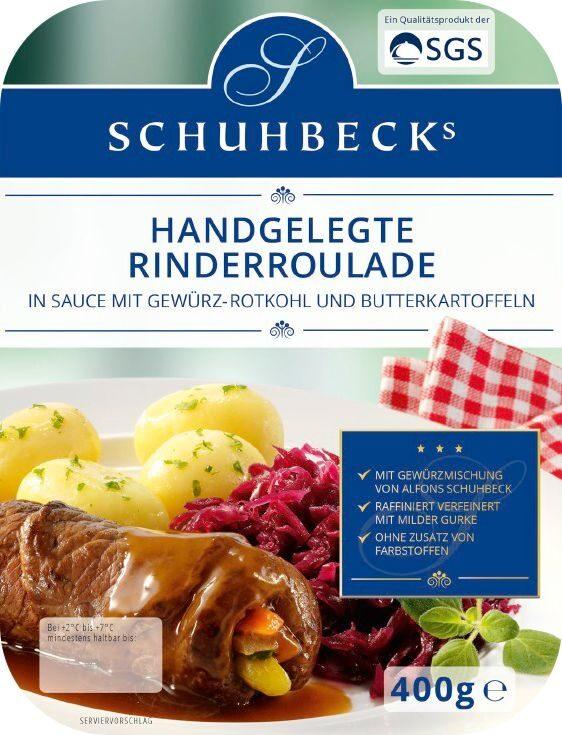 Schuhbecks Rinderroulade mit Rotkohl - Product