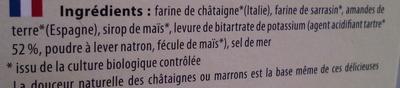 Crêpes aux châtaignes - Ingrédients - fr