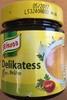 Delikatesse Brühe - Produkt