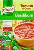 Tomato al Gusto Basilikum - Produkt