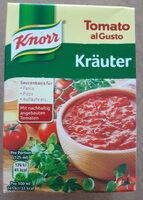 Sauce Tomate Kräuter - Produit - fr