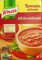 Tomato al Gusto All'Arrabbiata - Produit