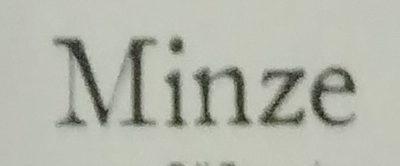 Minze - Ingrédients