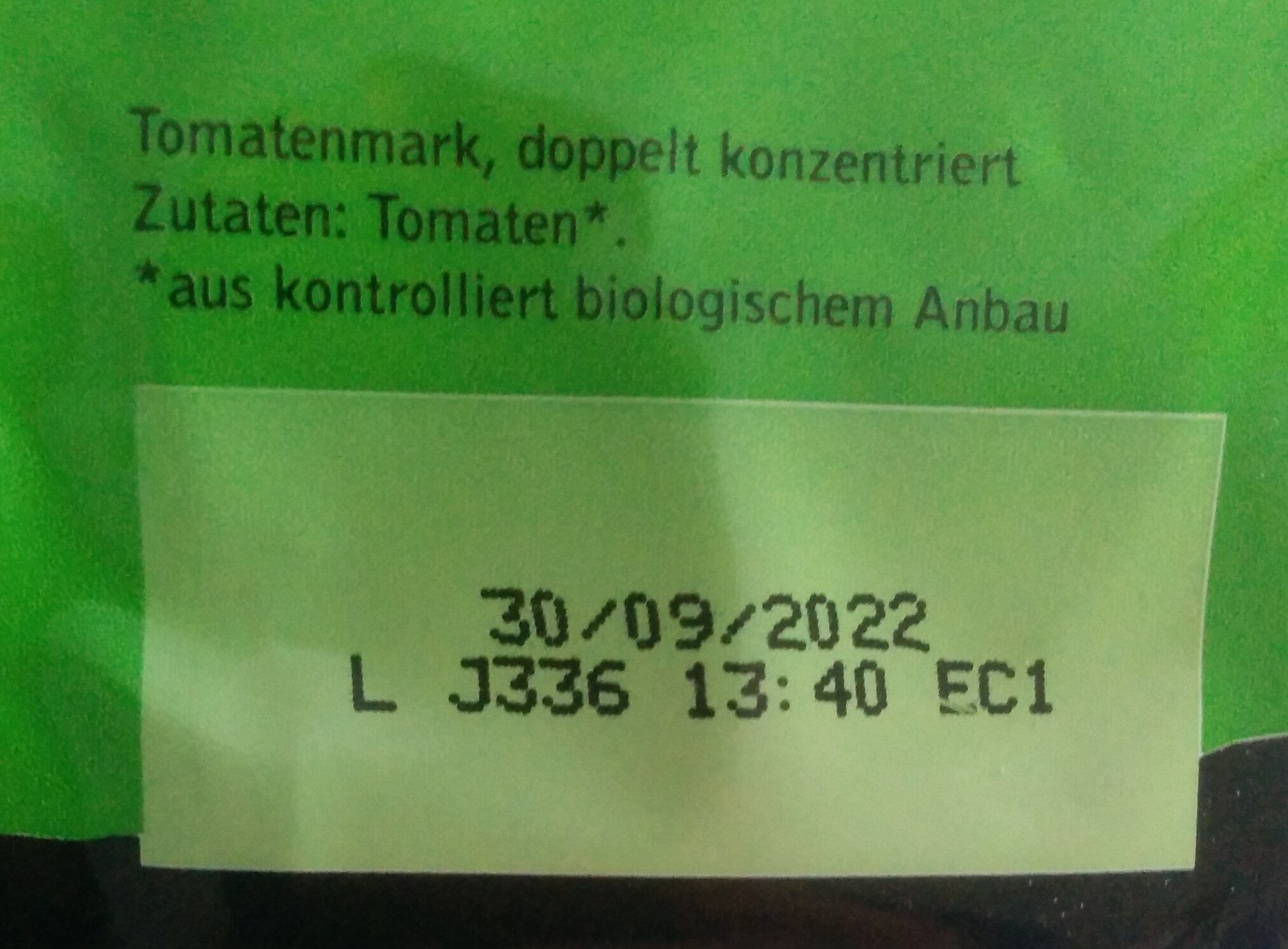 Tomatenmark - Zutaten - de