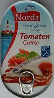 Heringsfilets in fruchtiger Tomaten-Creme - Produkt