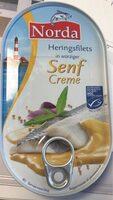Heringsfilets in würziger Senf Creme - Prodotto - fr