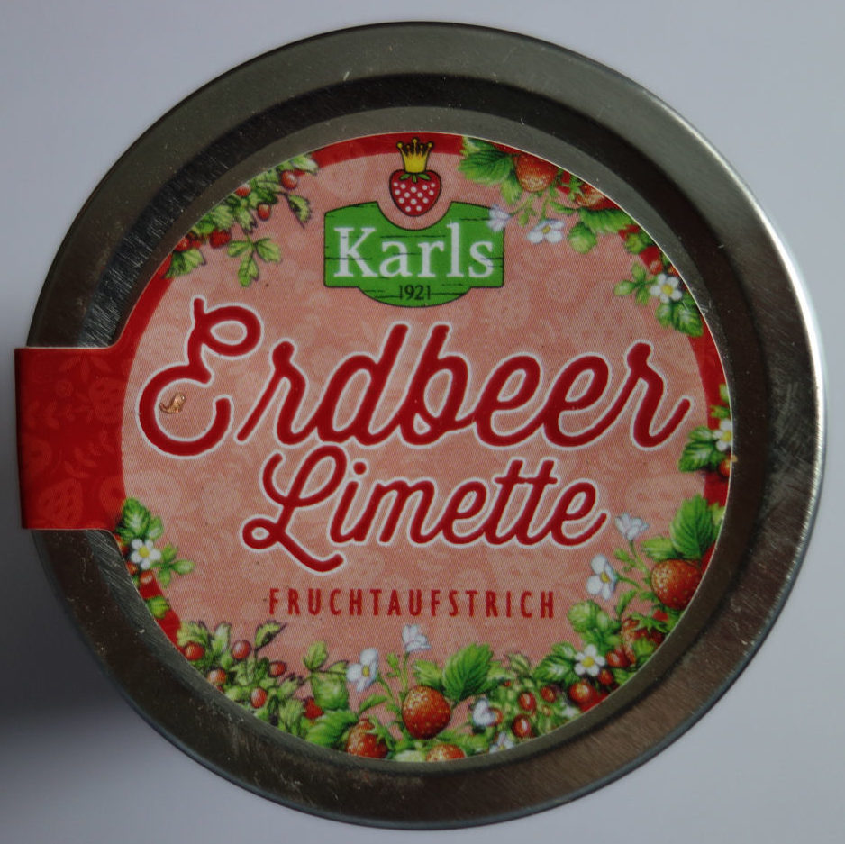 Erdbeer Limette Fruchtaufstrich - Product - de