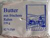 Butter aus frischem Rahm - Produkt
