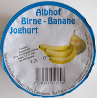 Birne-Banane Joghurt - Produkt