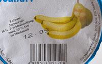 Birne-Banane Joghurt - Inhaltsstoffe