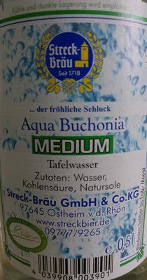 Aqua Buchonia Medium - Inhaltsstoffe