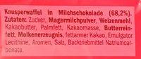 Kit Kat - Ingredientes - de