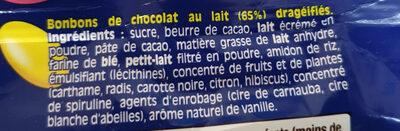 Smarties - Ingredienti - fr